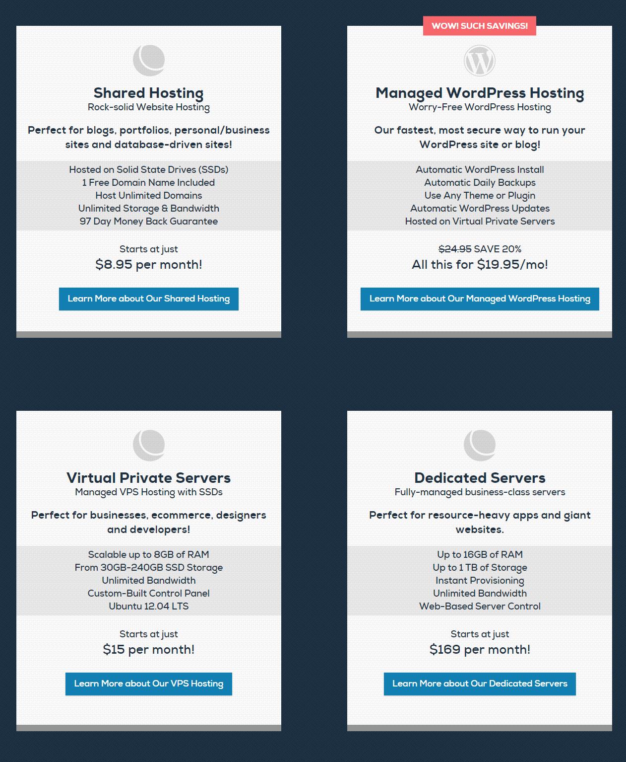 DreamHost Best web hosting features vps hosting dedicated hosting