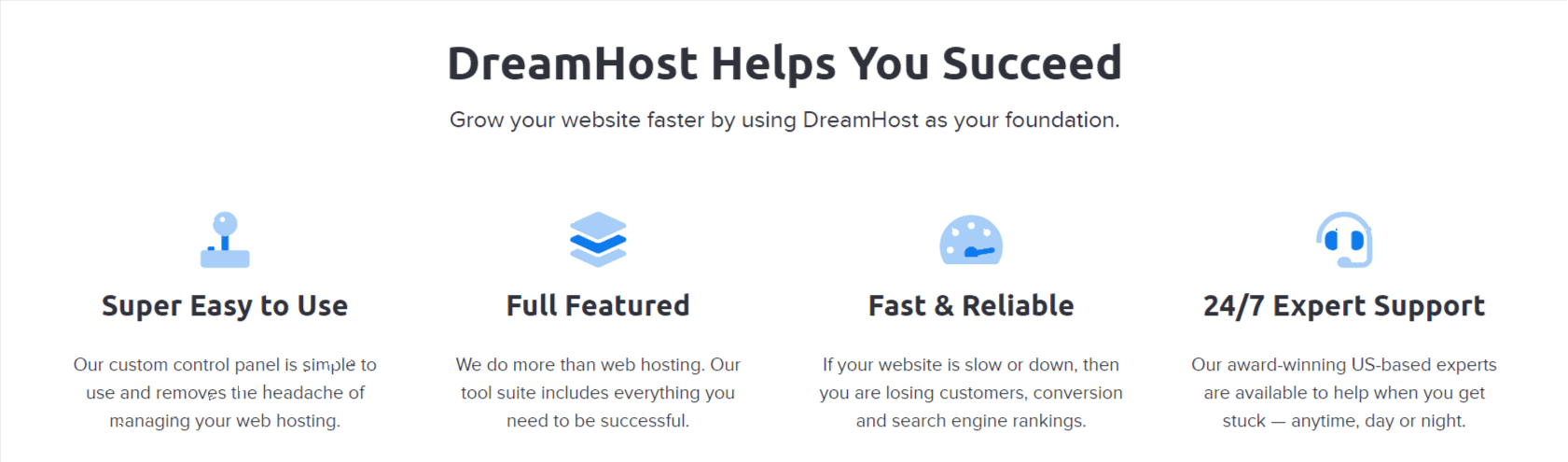 DreamHost helps you Sucees- Dreamhost Review