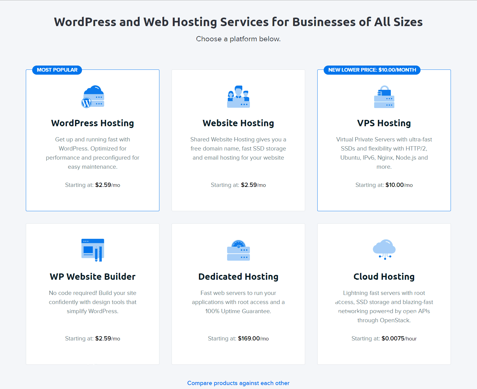 DreamHost Review- Pricing