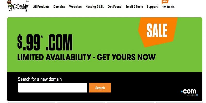Godaddy Domain Web Hosting