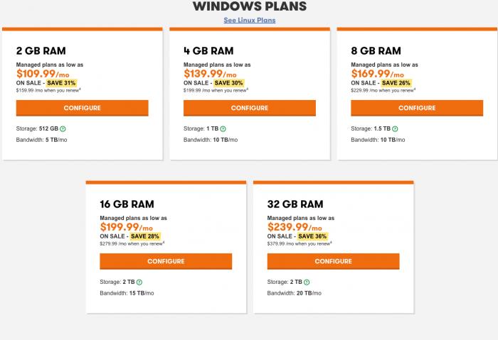 Godaddy Windows Dedicated Server - Godaddy promo code