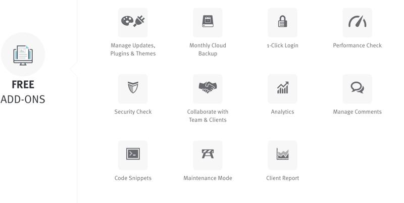 Managewp Premium add ons