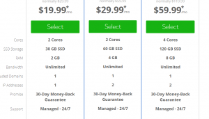 bluehost promo codes- vps pricing