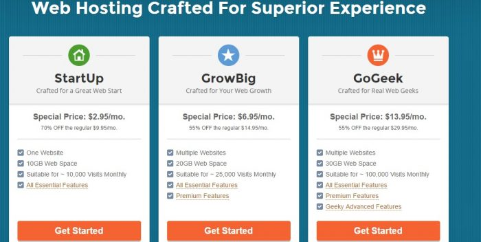 siteground hosting plans - SiteGround vs HostGator vs Bluehost