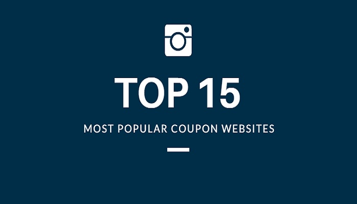 most popular websites discount coupons
