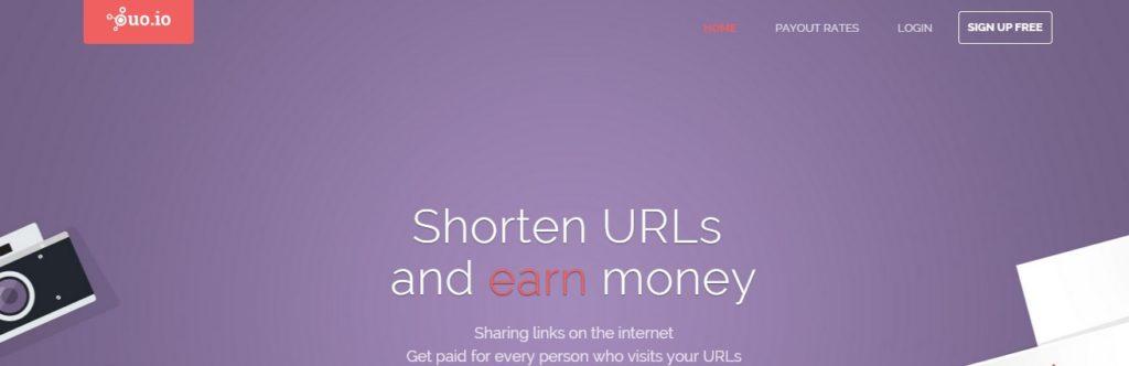 ouoio URL shortener