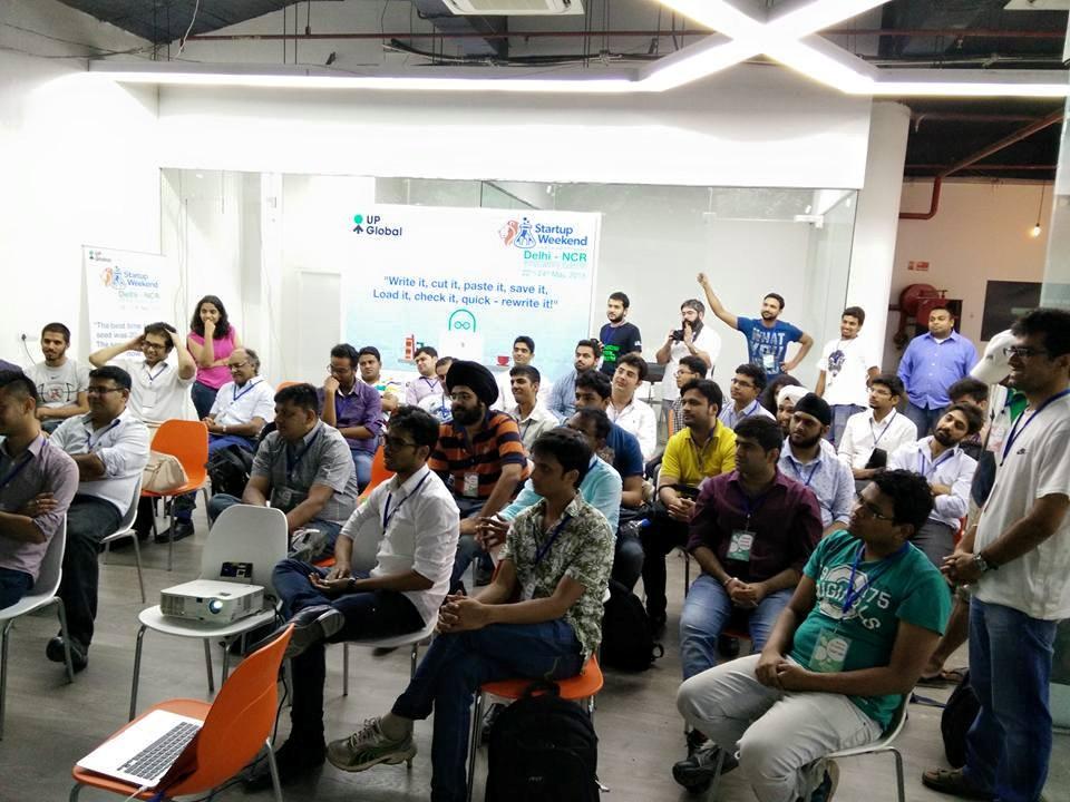 startup weekend delhi meet