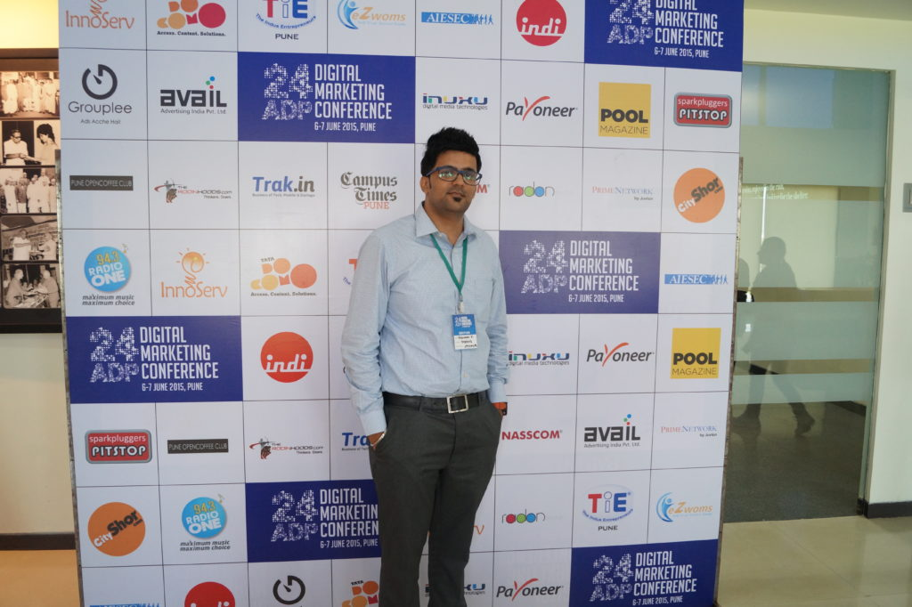 24ADP Me at Pune Digital marketing  Meetup 6th june 2015