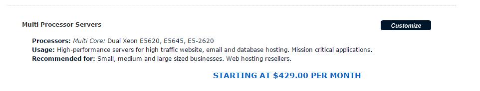 Dedicated Servers Managed Dedicated Servers Arvixe
