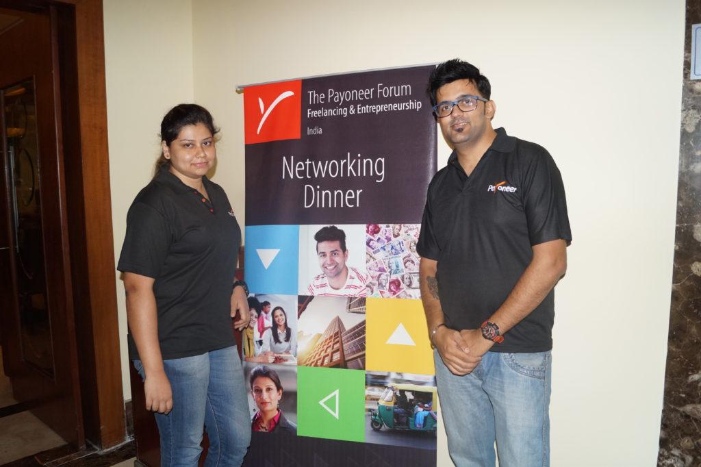 Payoneer Networking Dinner 31st May 2015 Bangalore 1