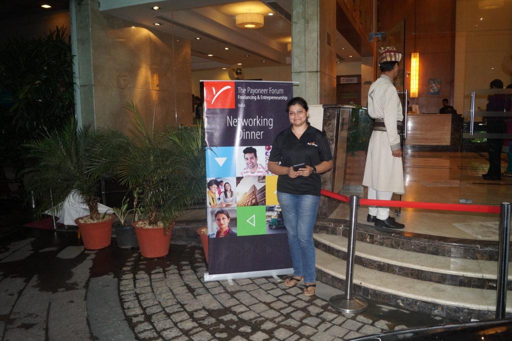 Payoneer Networking Dinner 31st May 2015 Bangalore