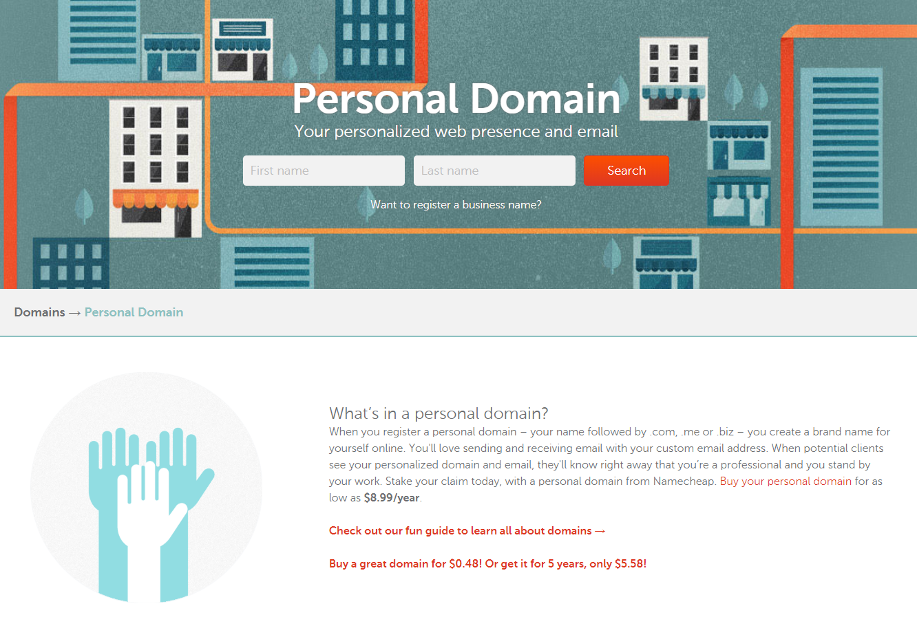 coupon codes for namecheap- personal domain