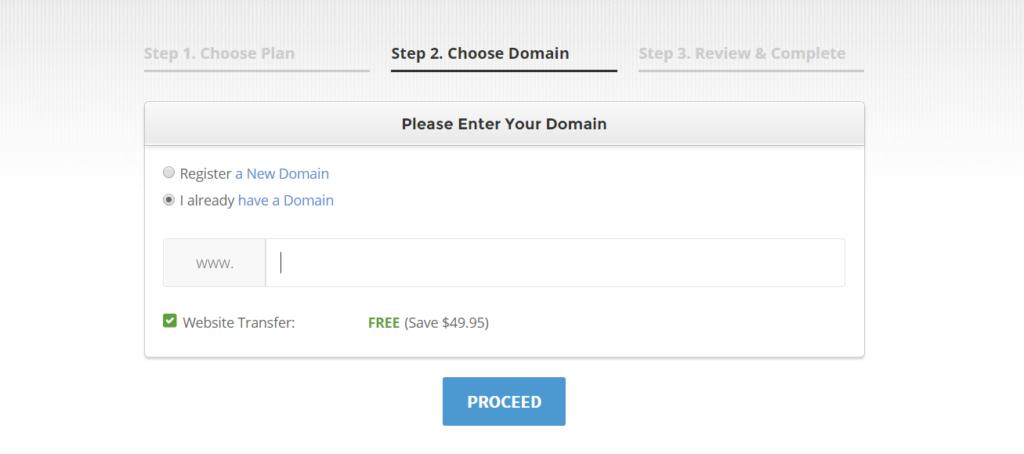 siteground hosting coupon code process