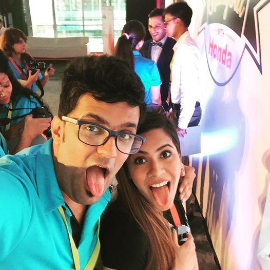 Crazy blogger  Pooja mittal Beauty blogger from India   Blogmint meet delhi Honda Jazz 2015