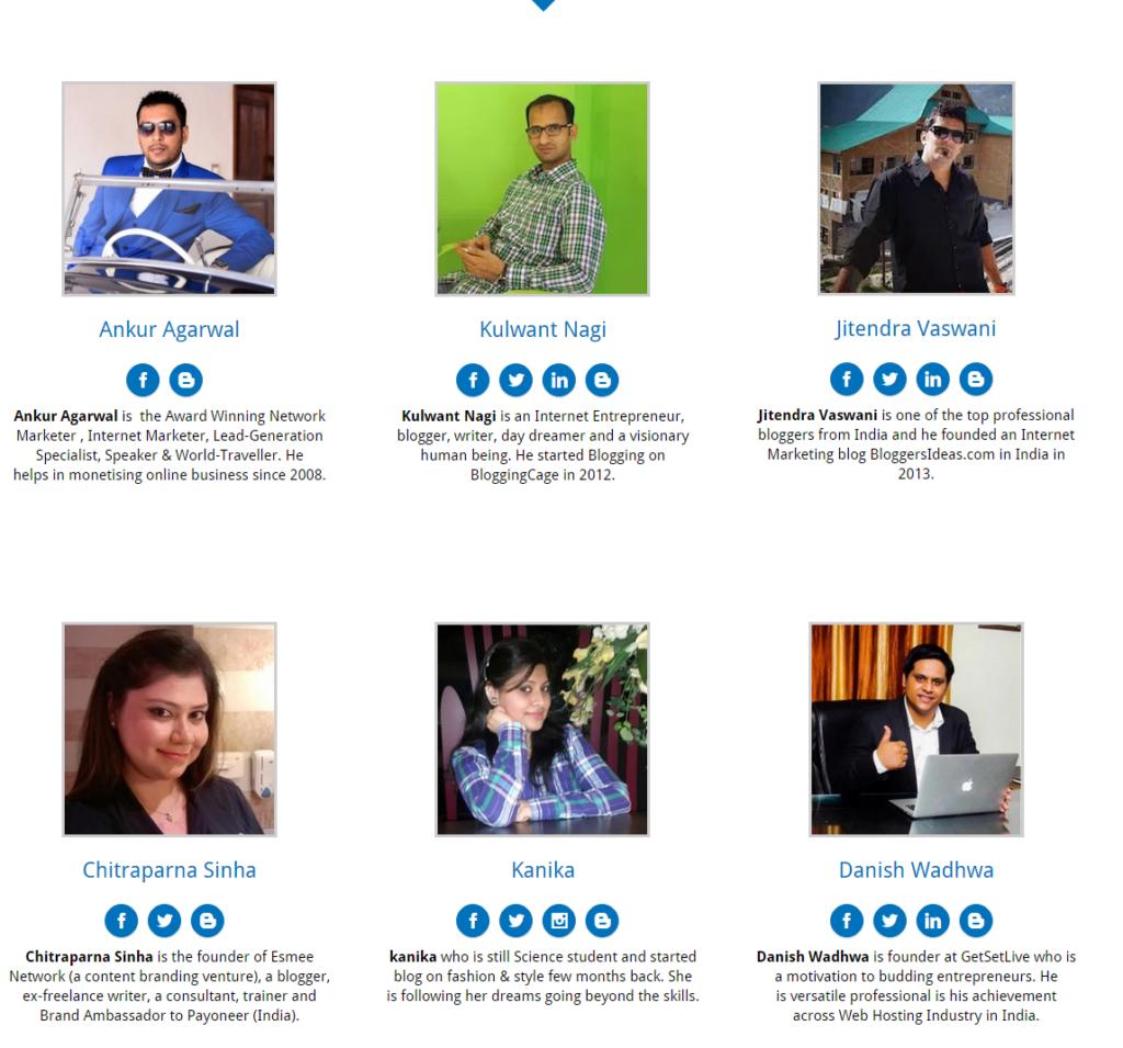 GetSetBlog blogging event delhi  speakers 2015