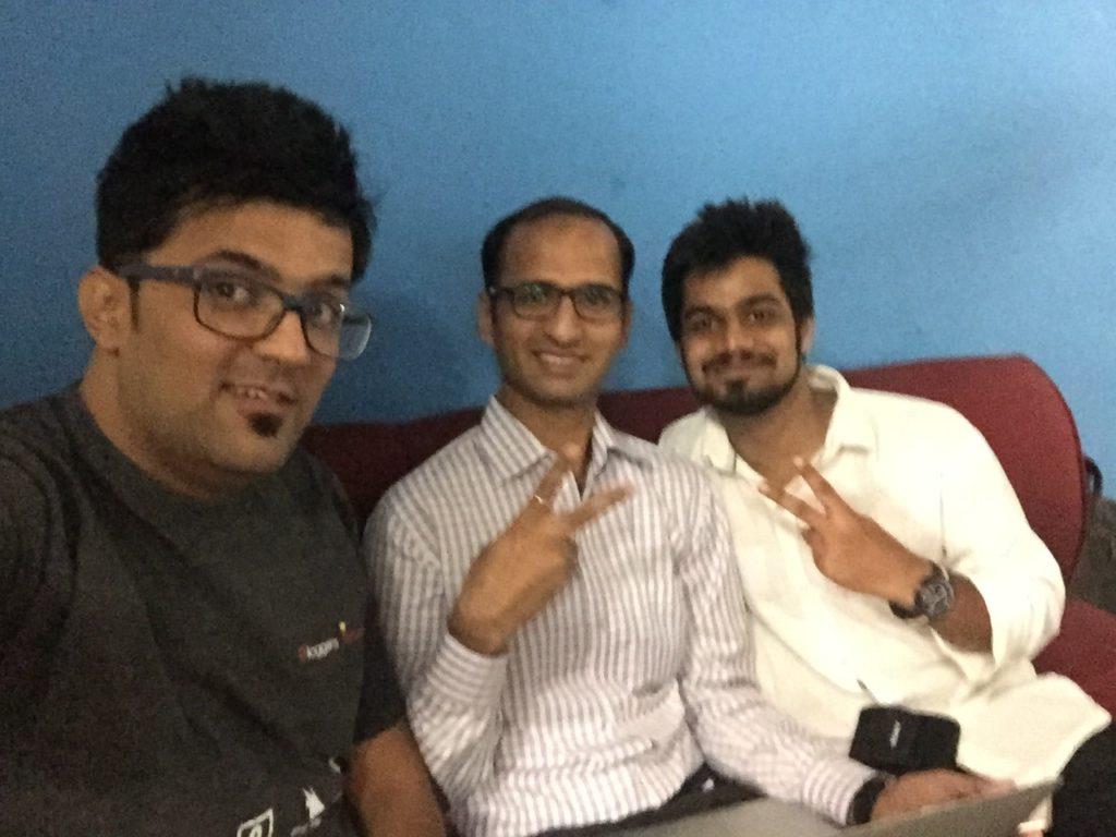 Getset blog event blogging with Kulwant Nagi, Anshul Mathur