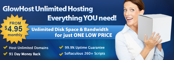 Glowhost Hosting Coupon code Promo Code