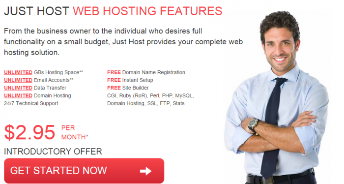 Just Host Web Hosting Features Coupon Code