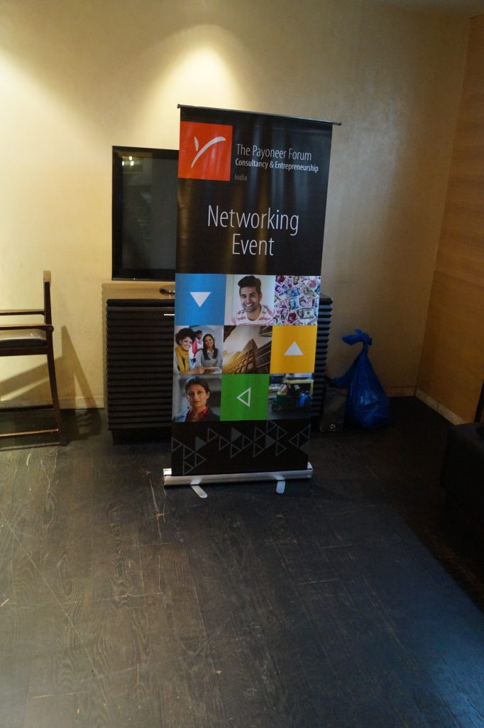 Payoneer Networking Dinner Delhi july 10th 2015 India