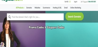 Register com coupons promo codes discount codes
