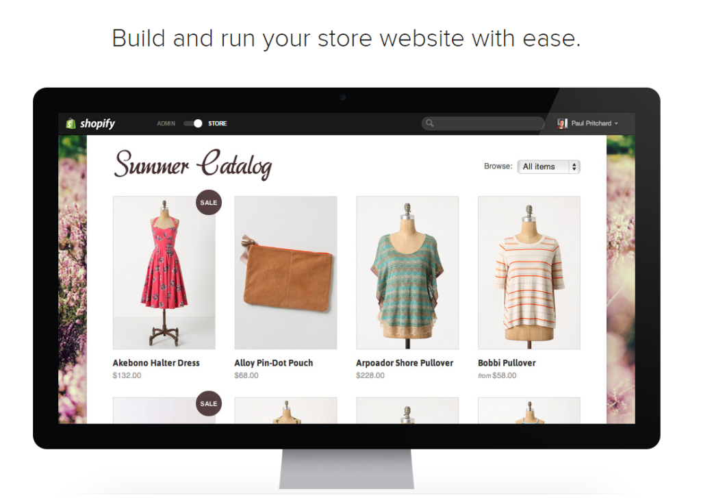 Shopify Build your store
