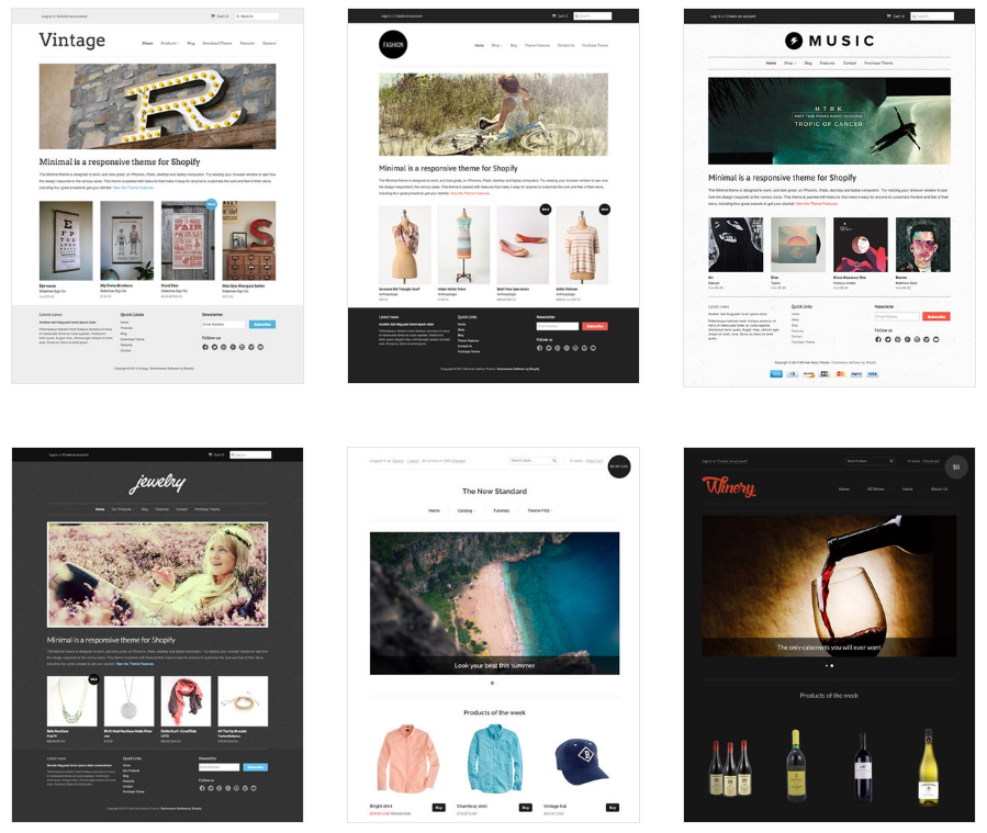 Start Your Online Store Now - Shopify-Themes