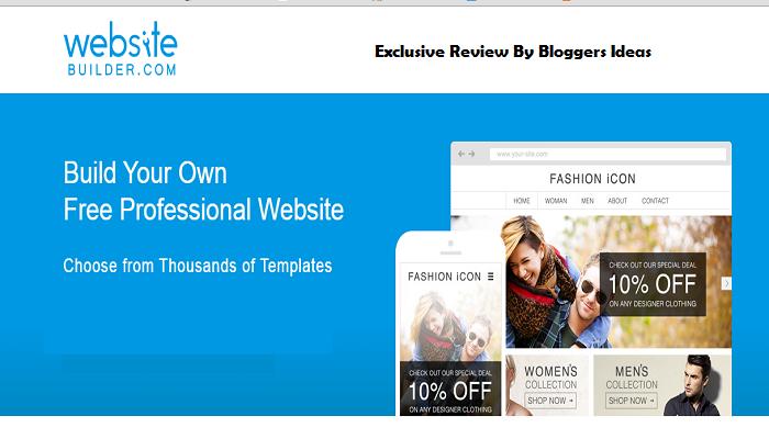 Websitebuilder.com review - website builders india
