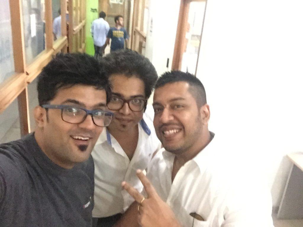 With my buddies rahul  rakesh & ankur agarwal
