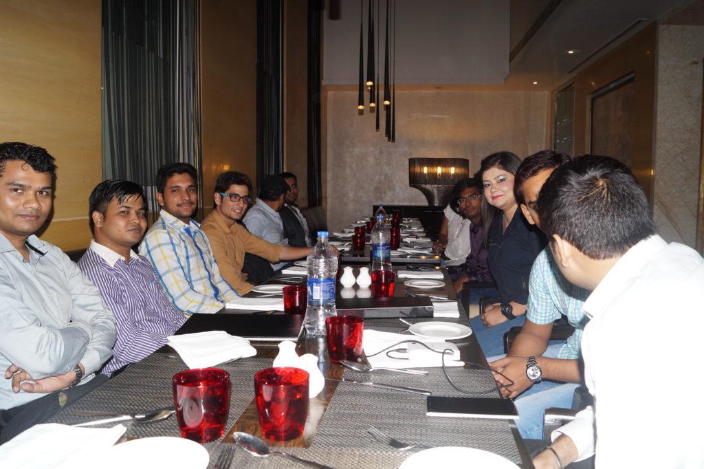 payoneer dinner networking july delhi  2015