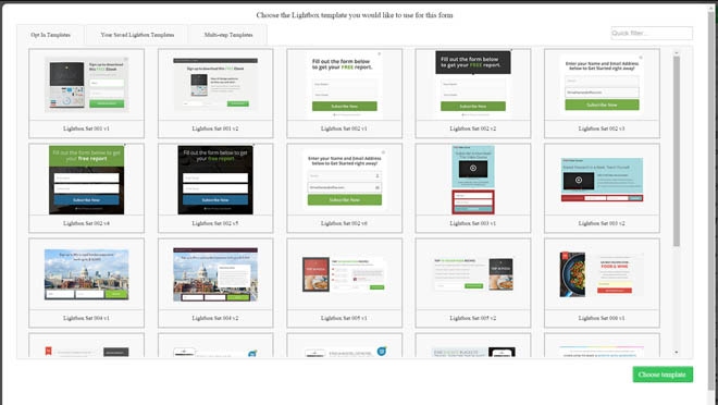Skyrocket Your Conversions Now: Thrive Leads Reviewthrive-leads-opt-in-template-library