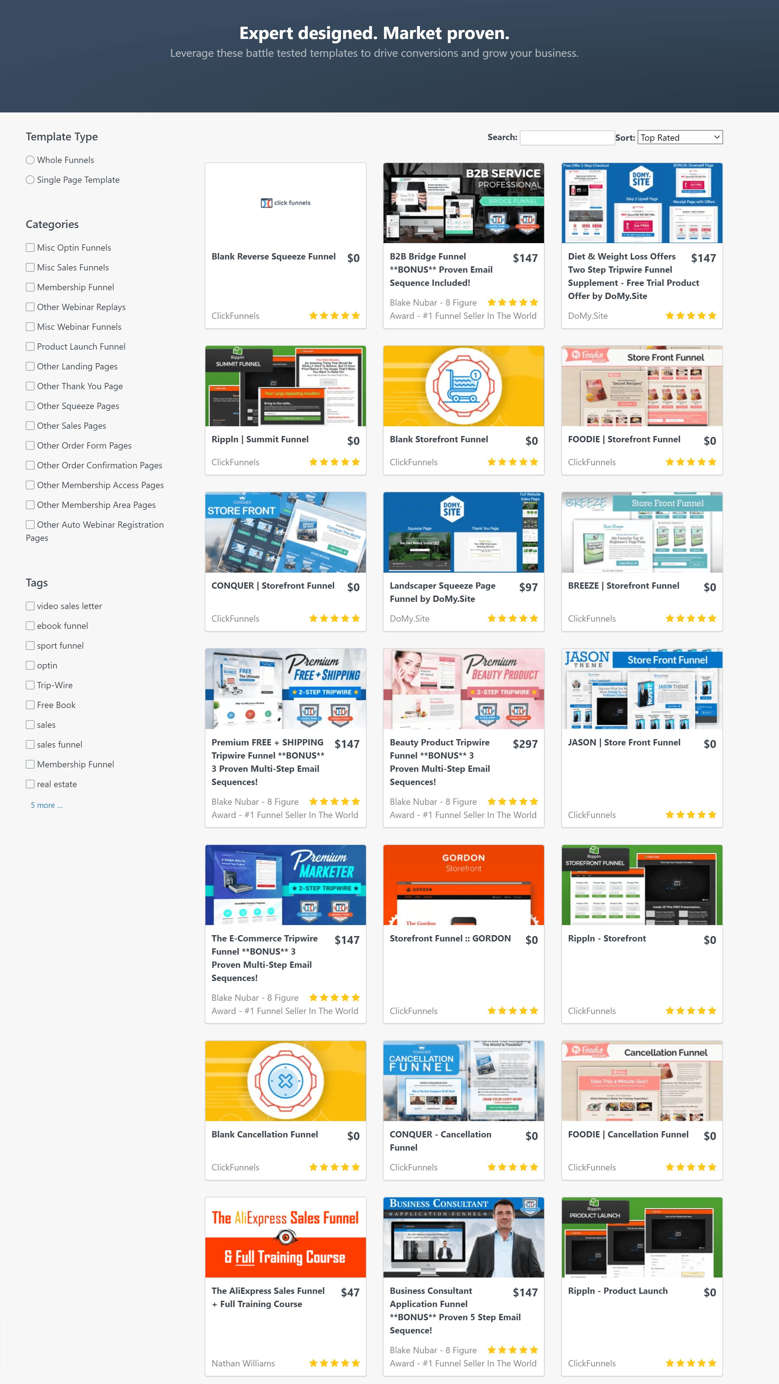 ClickFunnels Marketplace