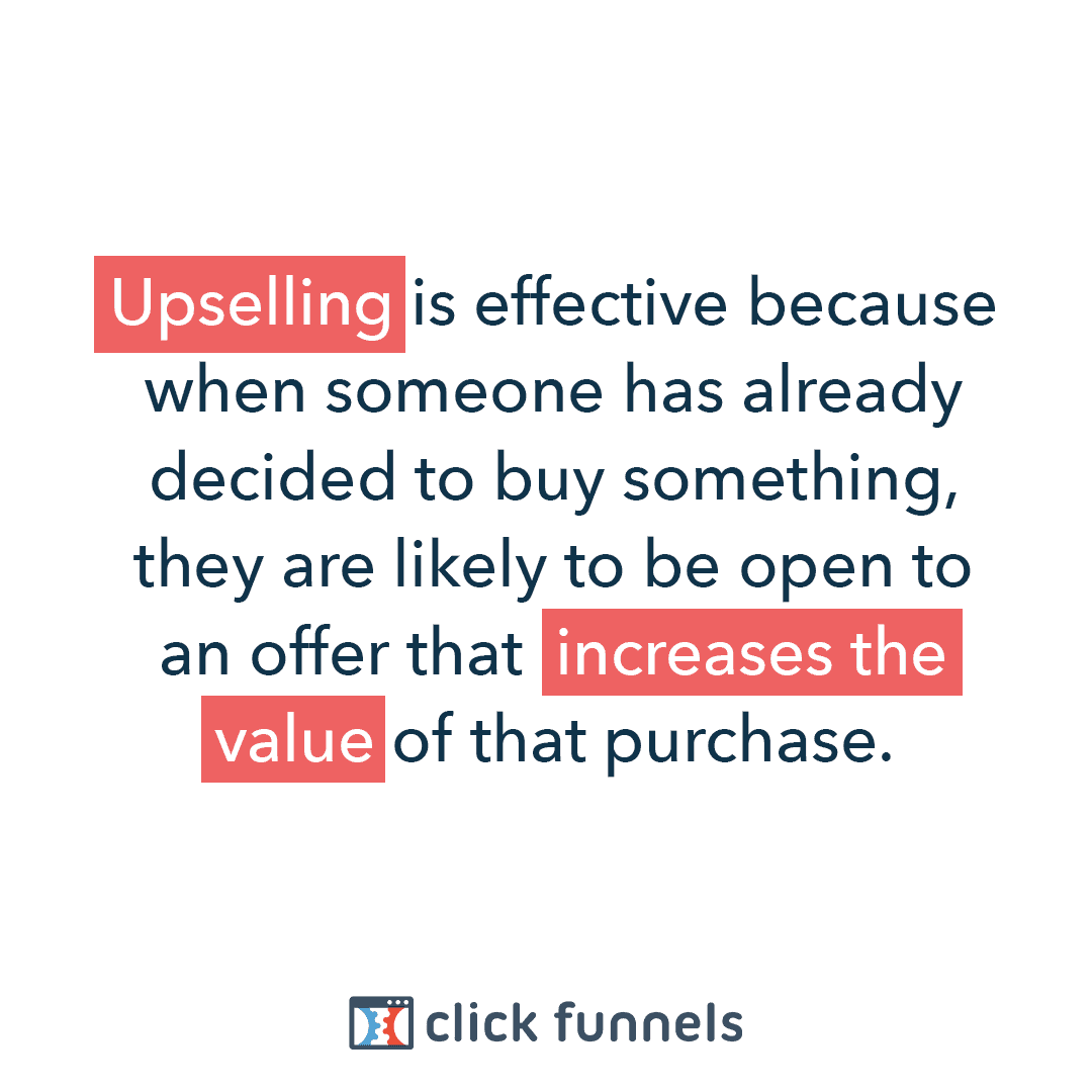 Clickfunnels Upsell awesome feature