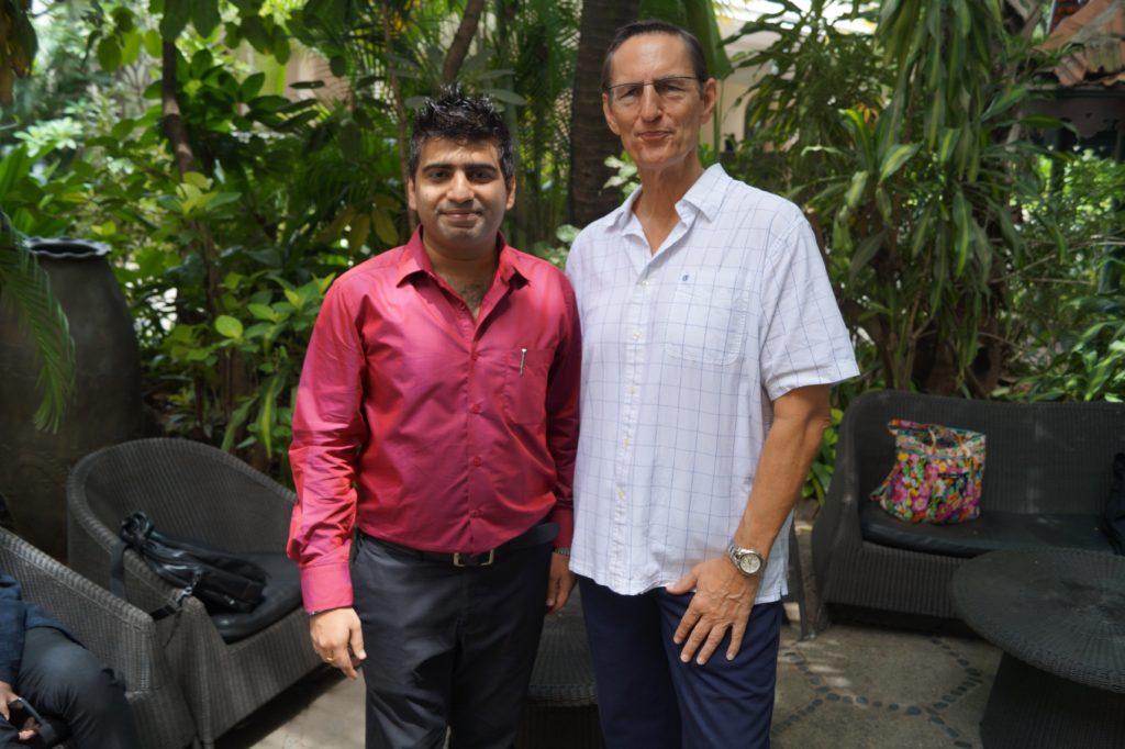 Domain X 2015 Aishwin Vikhona with Ron Jackson