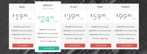 GreenGeeks Reseller Hosting Plans