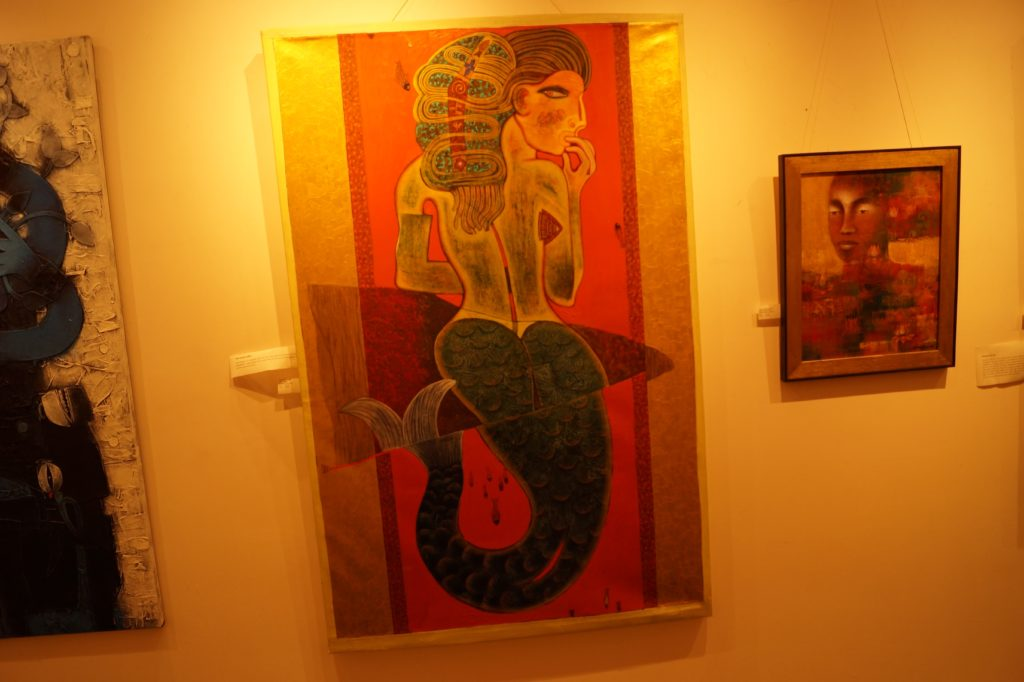 Hotel taj West End Bangalore beauty paintings (6)