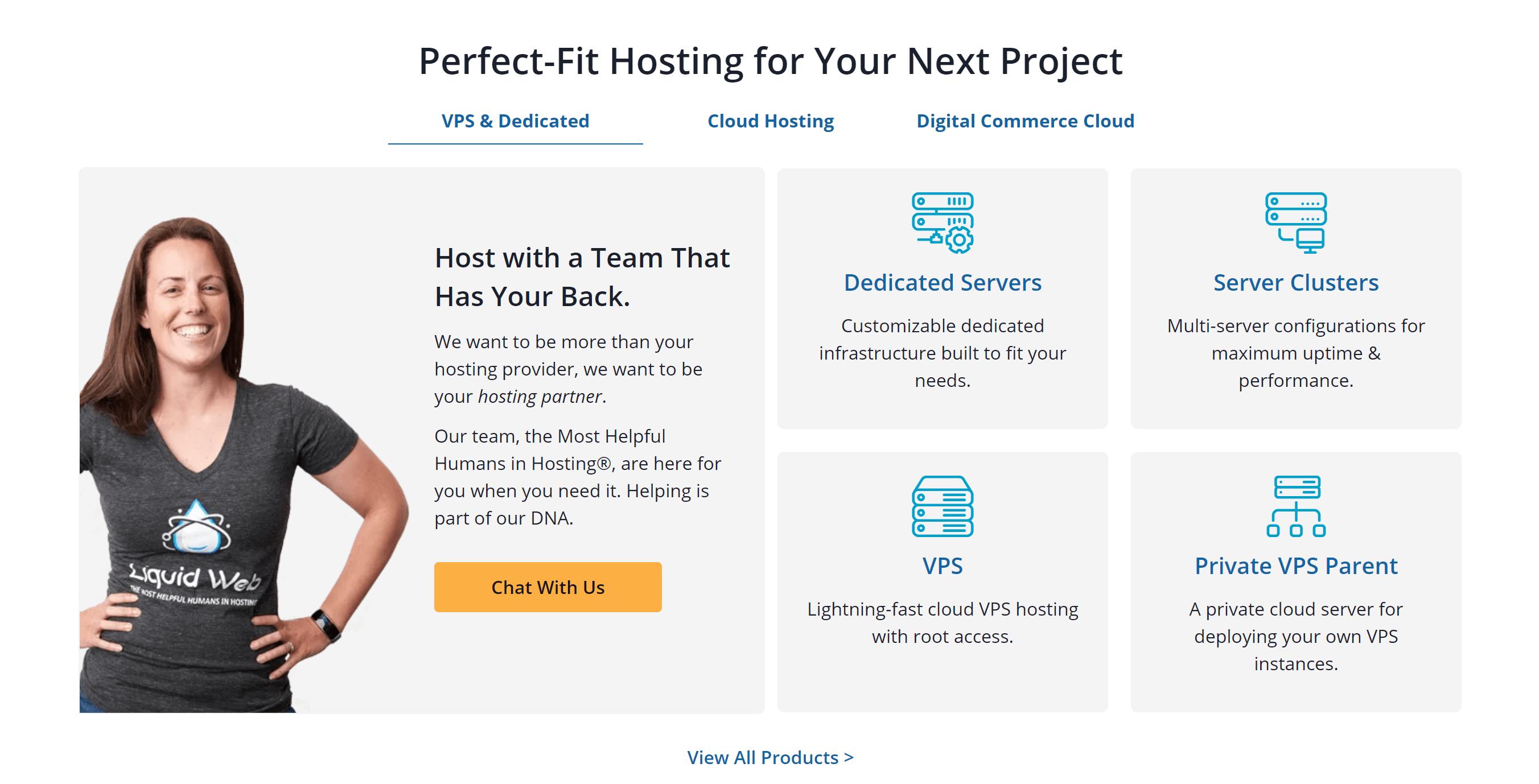 Liquid Web Managed Hosting & Custom Solutions