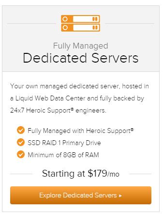 Liquidweb dedicated servers