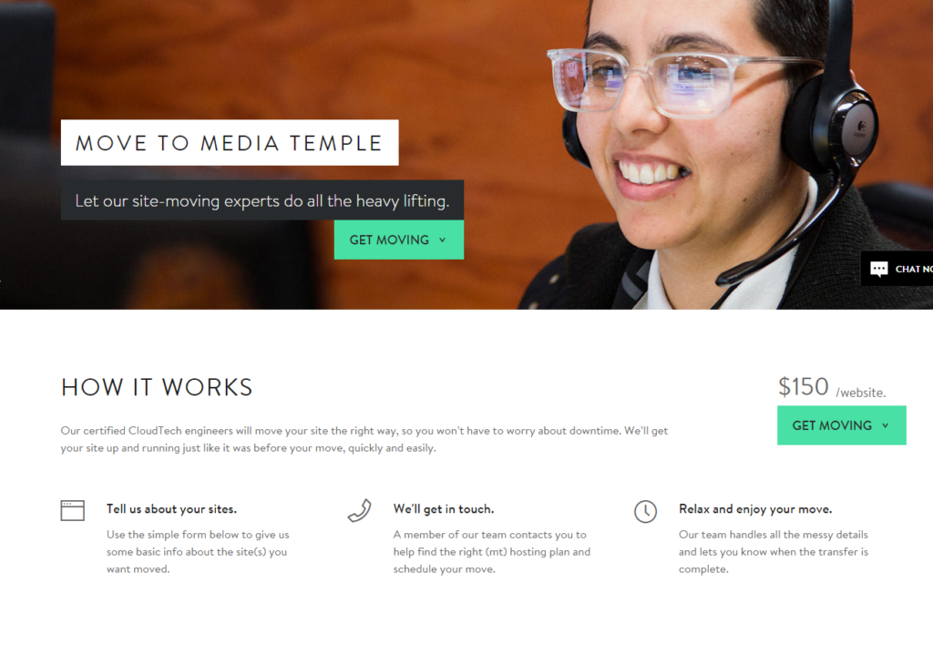 Media Temple Site Mover Move your website without the hassle