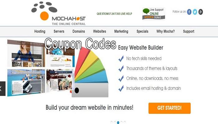 MochaHost coupon codes discount codes promo codes
