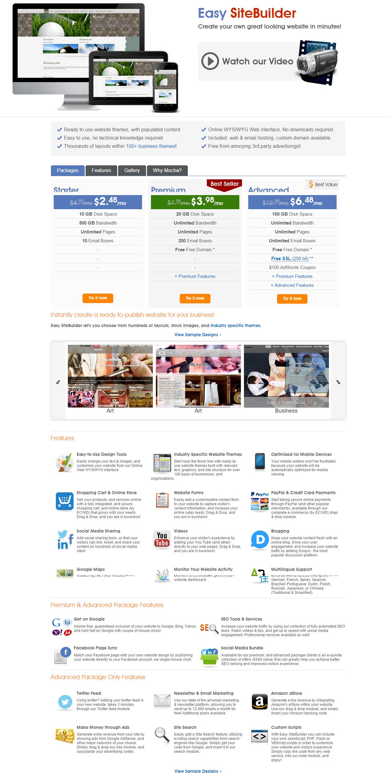 MochaHost website builder - MochaHost Coupon Code