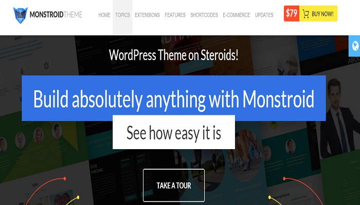 Monstroid themes