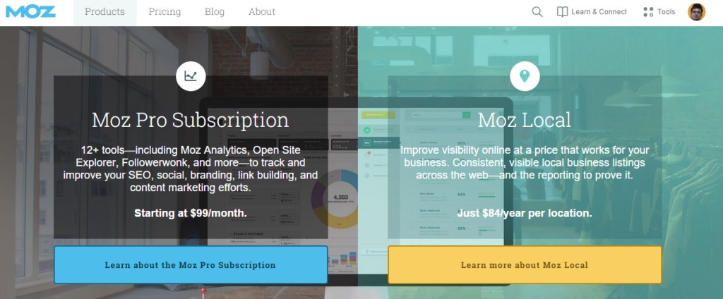 Moz Software for Managing Inbound Marketing and Local SEO