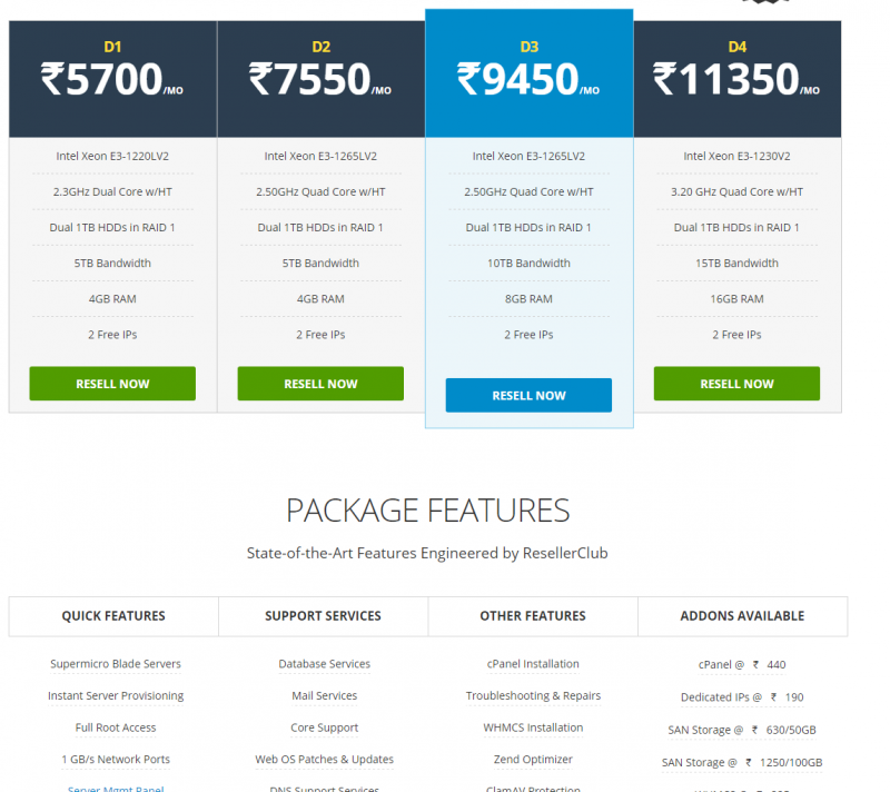 ResellerClub Dedicated Server Hosting India - ResellerClub Coupon Code