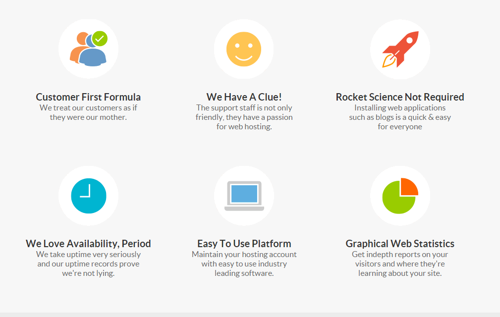 StableHost Affordable Web Hosting features