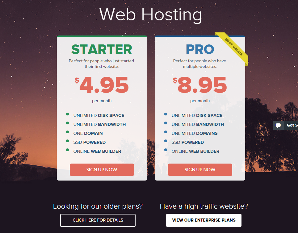 StableHost Unlimited Web Hosting