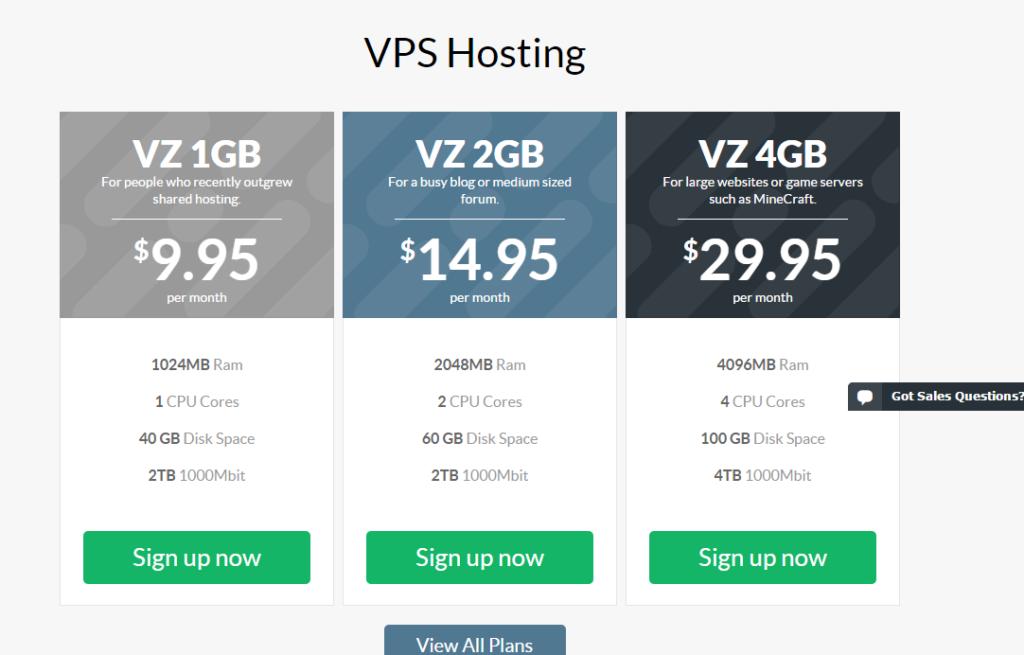 StableHost VPS Hosting
