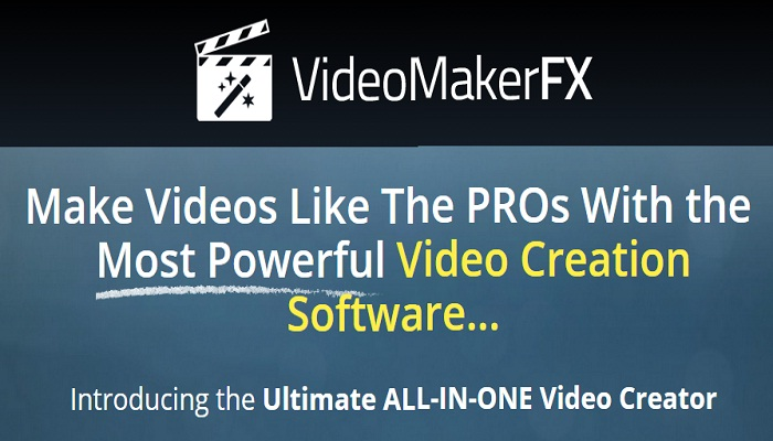 VideoMakerFX review homepage