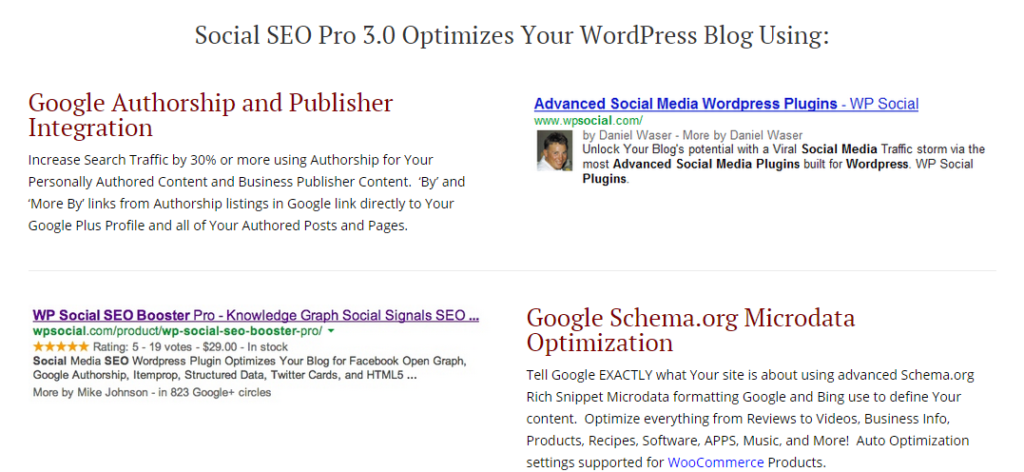 WP Social SEO Pro WordPress SEO Plugin for Social Media