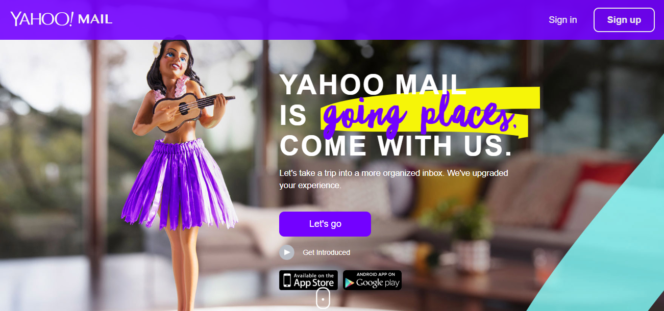 Yahoo coupons - login page