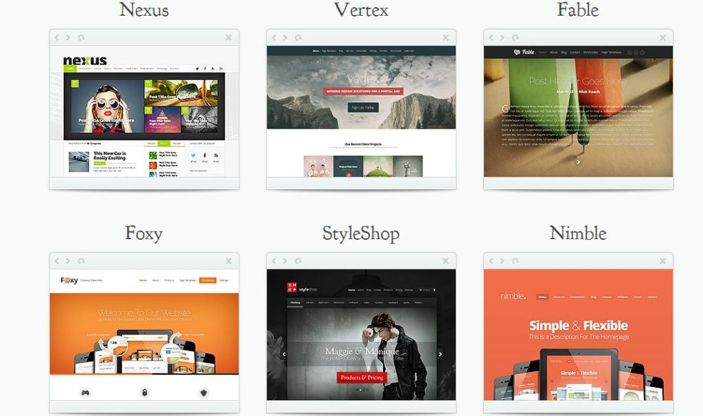 elegant themes review sample themes